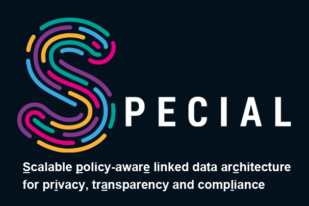 SPECIAL: scalable, policy-aware linked-data architecture for privacy, transparency and compliance