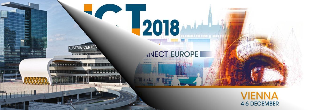 Come and talk to us at ICT 2018